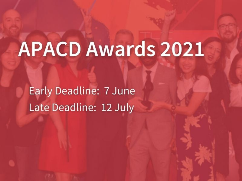 Enter Now: 2021 APACD Awards Recognise In-House Communications Excellence