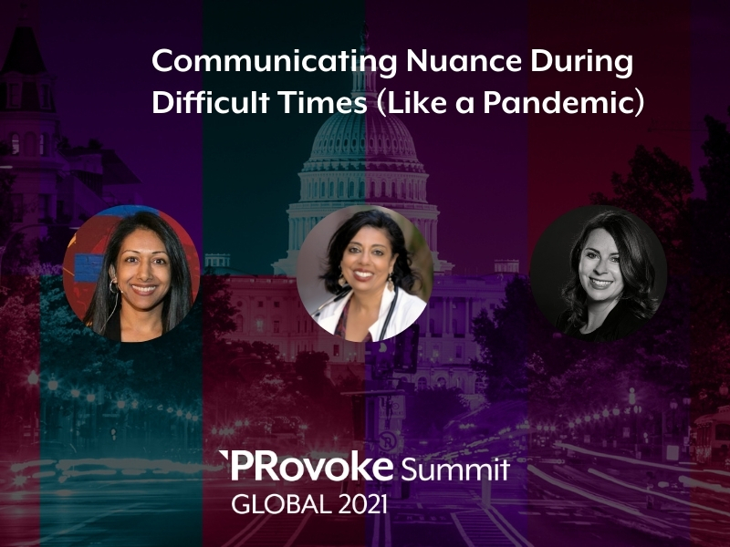PRovokeGlobal: Dr Monica Gandhi On Putting Risk Into Context