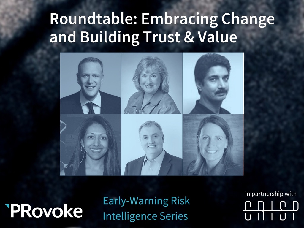 Roundtable: Embracing Change And Building Trust & Value