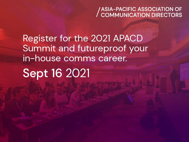 Register Now: APACD Summit On 16 September 2021