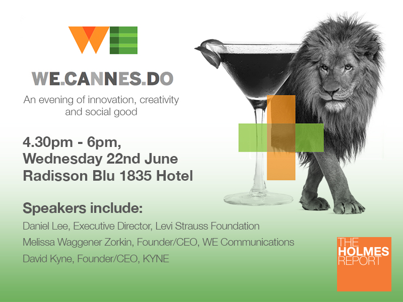 Register Now: Cannes Event To Focus On Innovation And Social Good