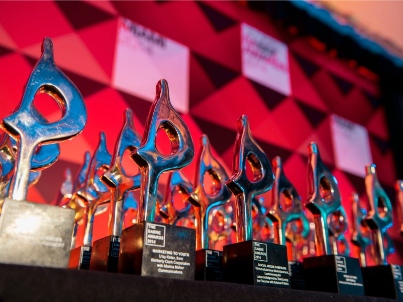 Holmes Report Announces 40 Global SABRE Award Winners