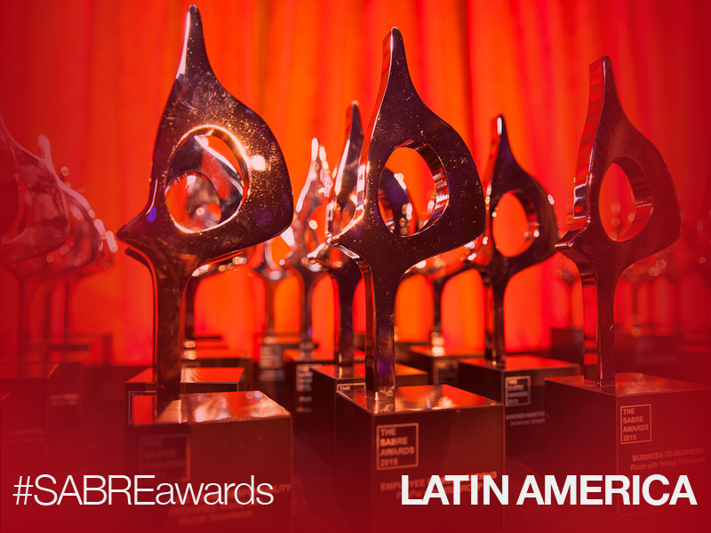 First Latin American SABRE Awards Competition Now Open For Entries