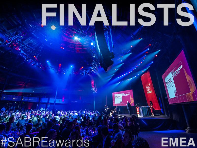 Weber Shandwick, Edelman, Ogilvy Lead EMEA SABRE Nominations