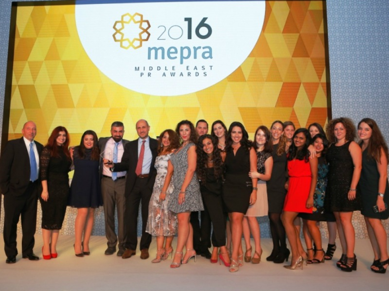 Edelman Dabo And Weber Shandwick Take Top Honours At MEPRA Awards